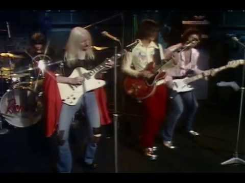 Johnny & then Edgar Winter - Jumping Jack Flash & Frankenstein
