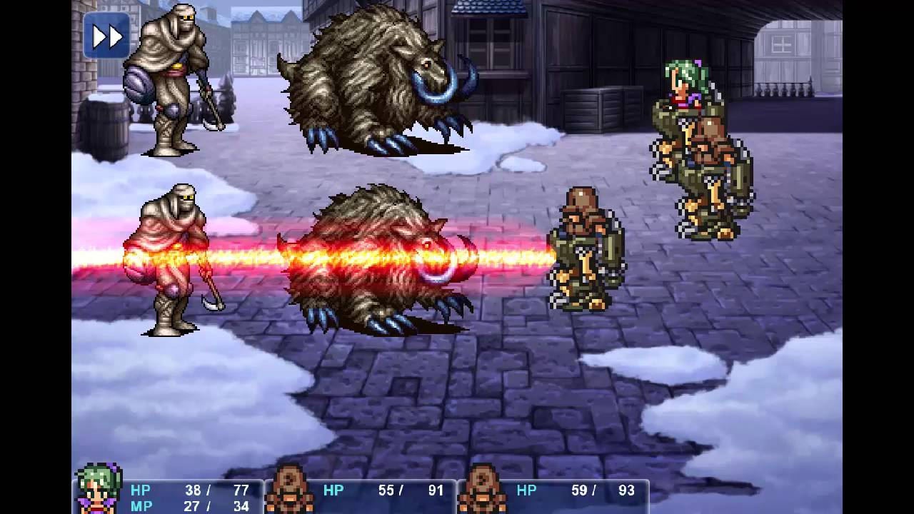 Final Fantasy 6 Rom final fantasy 6 steam with snes sprites mod - early wip