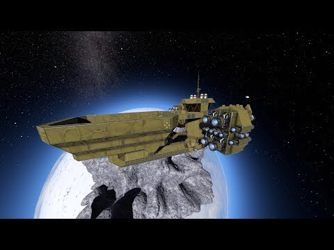 [Space Engineers] Ore Collecter Bucket Ship