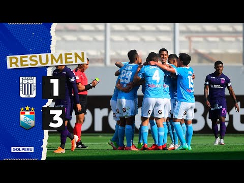 Resumen: Alianza Lima vs Sporting Cristal (1-3) #LIGA1BETSSONXGOLPERU