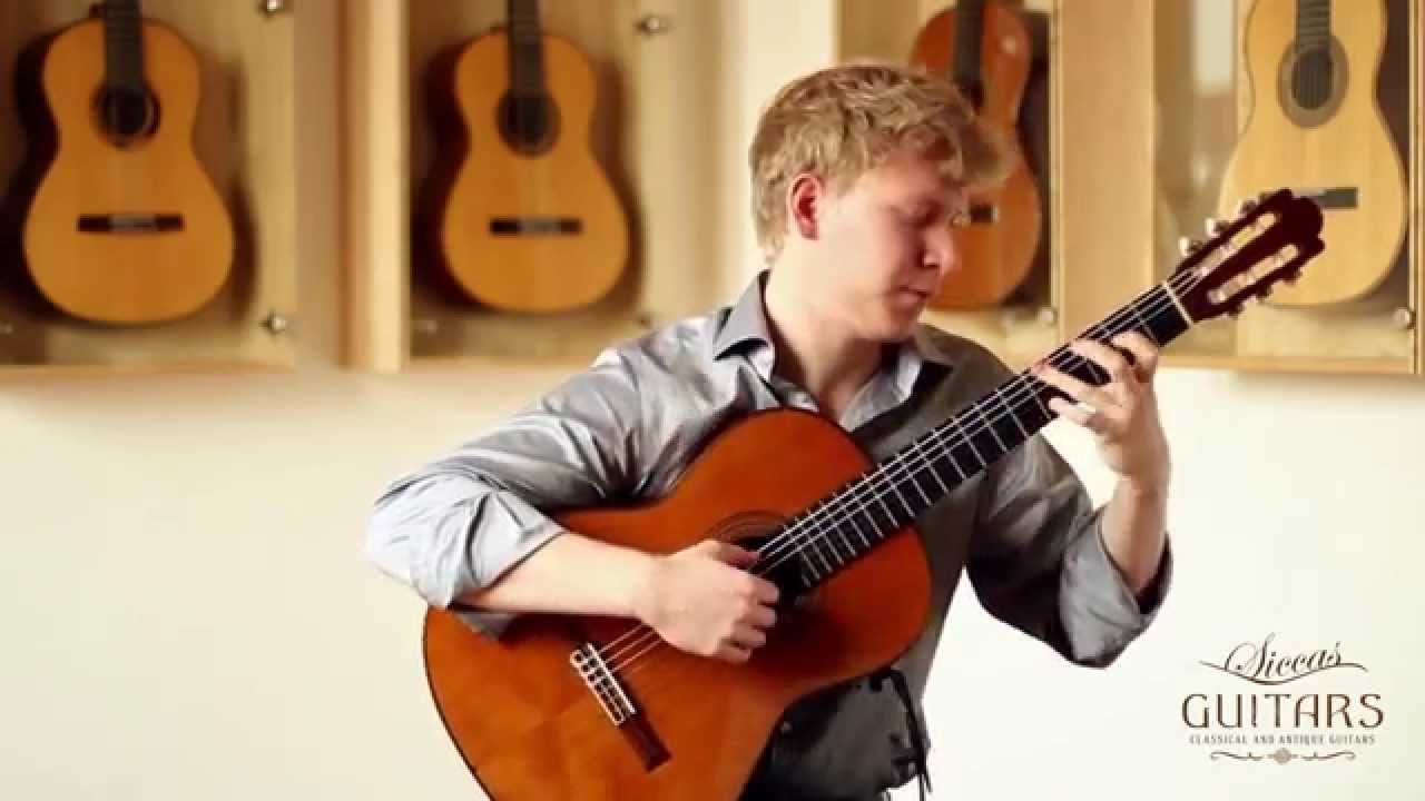 Bertram Burkert plays Les Tendres Plaintes by Jean Philippe Rameau Arr. Bertram Burkert