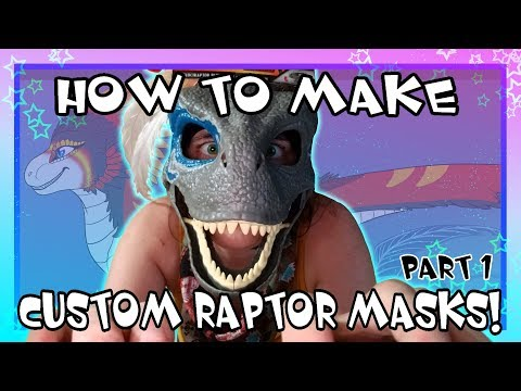 [HOW TO MAKE] Custom Raptor Masks PART ONE