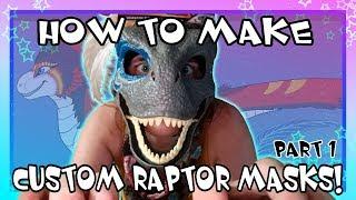 [HOW TO MAKE] Custom Raptor Masks PART ONE