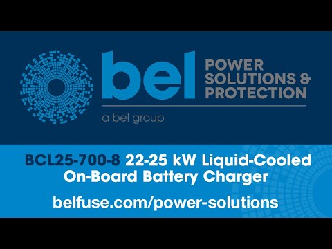 Bel Power Solutions BCL25-700-8 On-Board Battery Charger