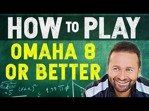How to Play Omaha Hi-Lo