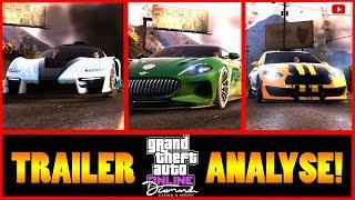 🧐CASINO Update TRAILER ANALYSE!😍 Alle Autos, Glücksspiele, Missionen + Mehr! [GTA 5 Online DLC]