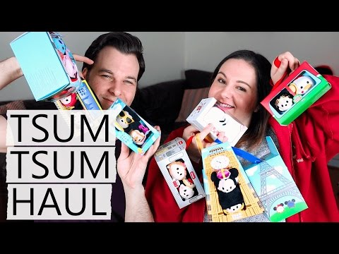 Huge Tsum Tsum Haul! | City Sets And Valentine's Day Collection!