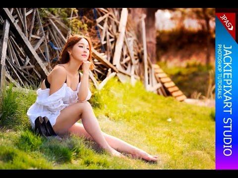 Photoshop - เทคนิคแต่งภาพให้สวย ปรับสีเล่นแสง เพิ่มความน่าสนใจให้กับภาพ | JackiePixart