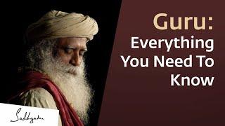 Guru: Everything You Need To Know | sadhguru tips |sadhguru | sadhguru english | #sadhguruenglish