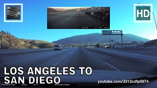 Driving from Los Angeles to San Diego, Interstate 5