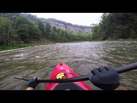 Letchworth 2015 – White Water Kayaking