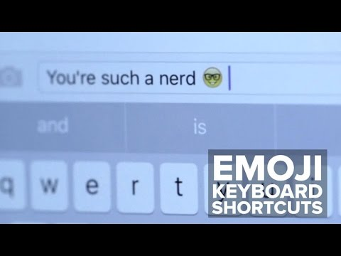 Send emojis faster with keyboard shortcuts