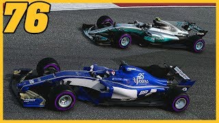 THE KNOCKOUT PUNCH?!  17/20  F1 2017 Sauber Career Mode S4. Episode 76