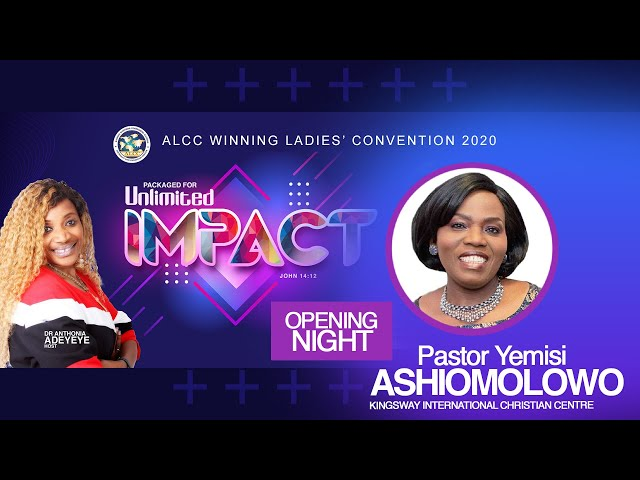 Packaged for Unlimited Impact | Pastor Yemisi Ashimolowo | ALCC Winners House