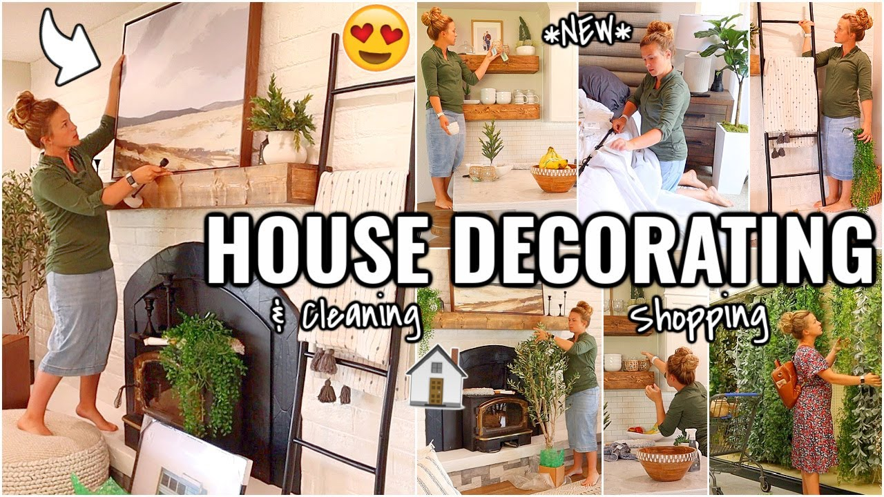 RENOVATION HOUSE DECORATING!!😍 SHOP, DECORATE & CLEAN WITH ME | OUR ARIZONA FIXER UPPER