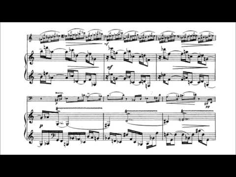Nikolai Roslavets - Meditation for cello and piano (audio + sheet music)