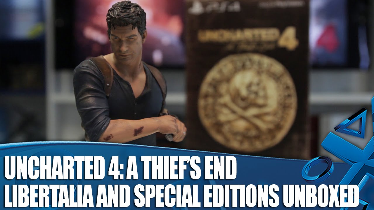 Uncharted 4 - Libertalia Collector's and Special Edition ...