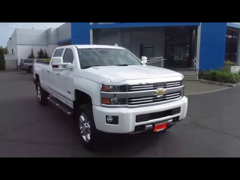Chevrolet Silverado 3500hd Seattle >> 2015 Chevrolet Silverado 2500hd Crew Cab Long Bed High Country 4wd