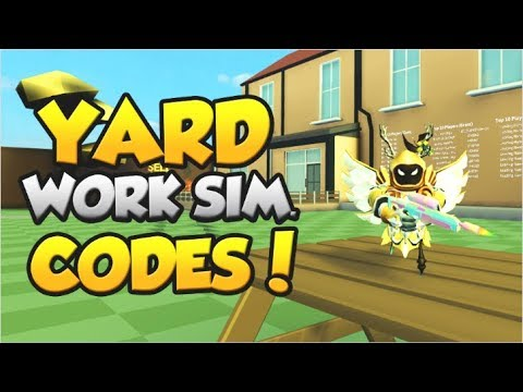 ALL *EXCLUSIVE* CODES!  | Yard Work Simulator