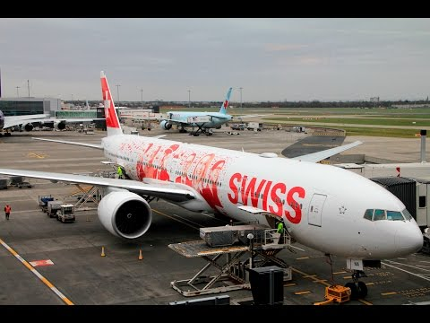 Swiss | 777-300ER | LHR-ZRH | Business