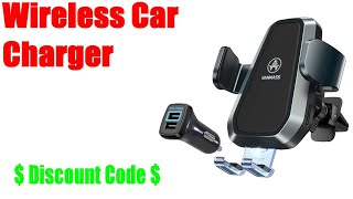 homepage tile video photo for Vanmass Wireless Car Charger Review