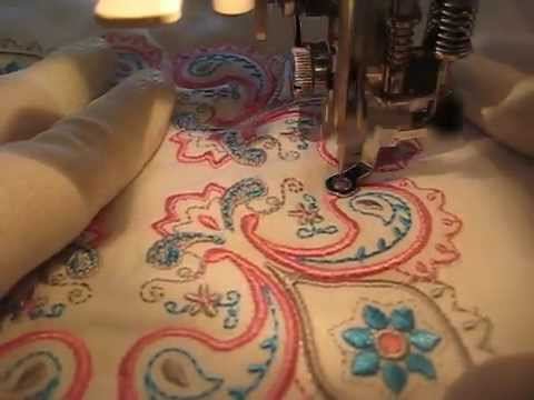 Eight steps to free motion quilting on applique the inbox jaunt