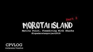 morotai part #2 Freediving With Sharks Matita Point,  Morotai.