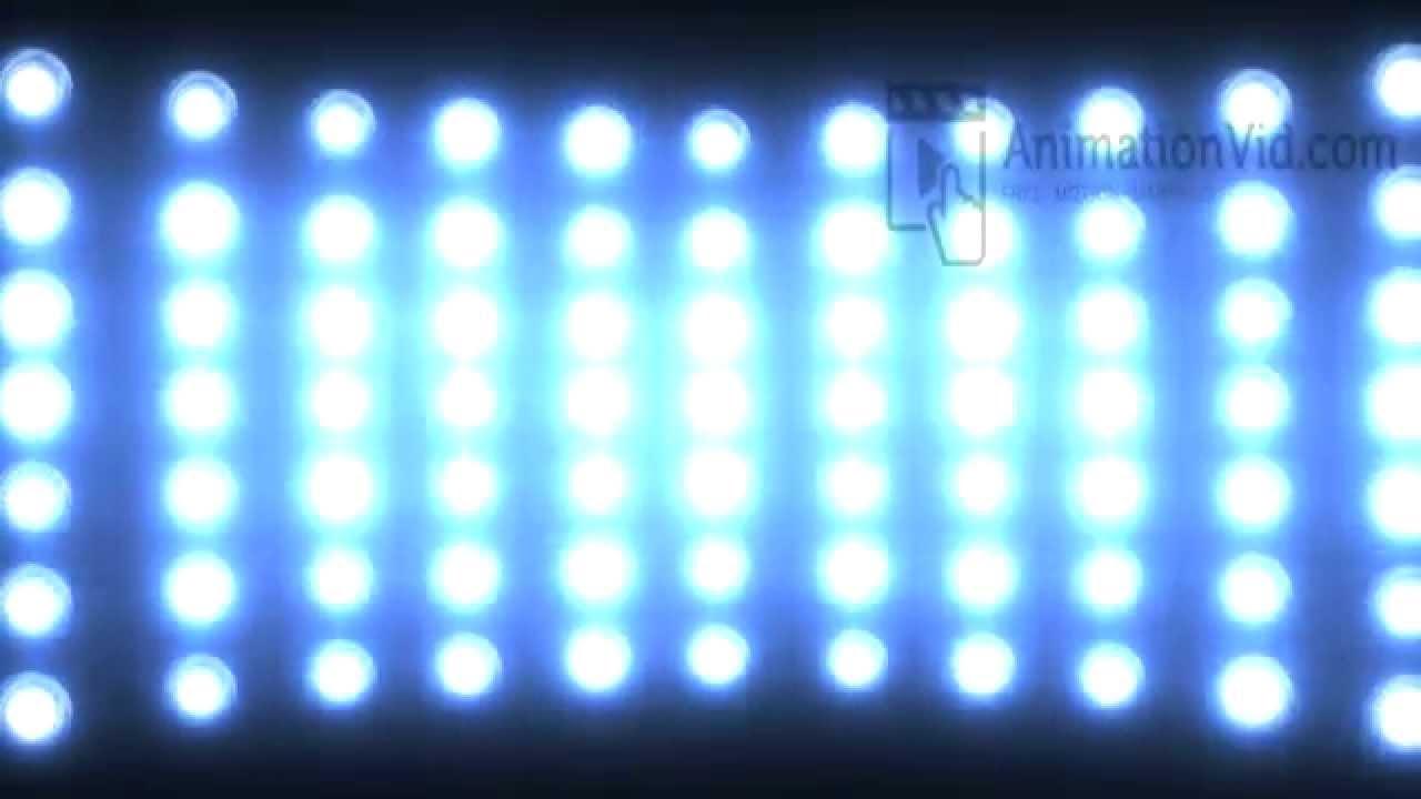 Blinking Stadium Lights Animation Wallpaper