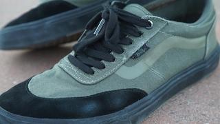 8a877b4710a Product Video Vans Crockett Pro 2 Shoes Black White