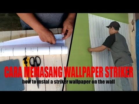 Cara Memasang Wallpaper Sticker Pada Dinding