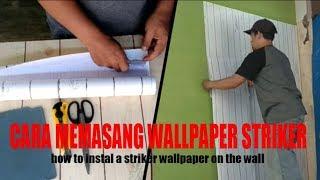 Download Video CARA MEMASANG WALLPAPER STICKER PADA DINDING MP3 3GP MP4