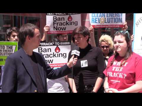 Food & Water Watch interview with Jessica Fujan and Mel Whitehouse