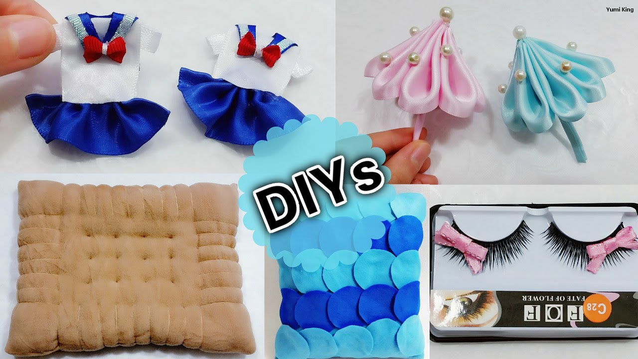 5 Fun Diys When You 39 Re Bored Diy Miniature School Uniform