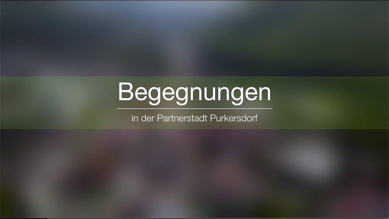 Purkersdorf stellte sich in Bad Sckingen vor - Offizielle