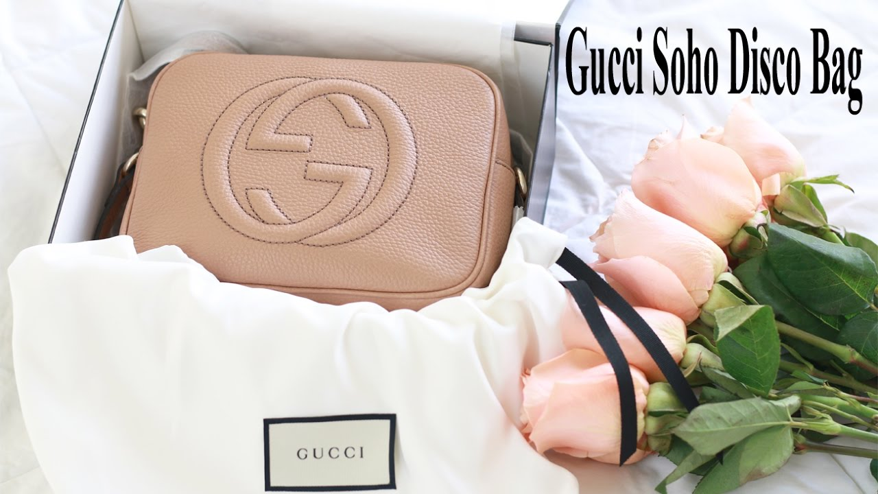 3fec32906 Unboxing | Gucci Soho Disco Bag, Rose Beige - YouTube