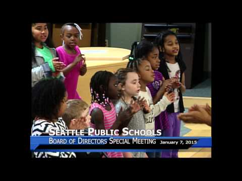 Martin Luther King, Jr. Elementary School choir Jan 7, 2015