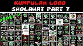 KUMPULAN LOGO-LOGO SHOLAWAT SE INDONESIA || PART 7 ||