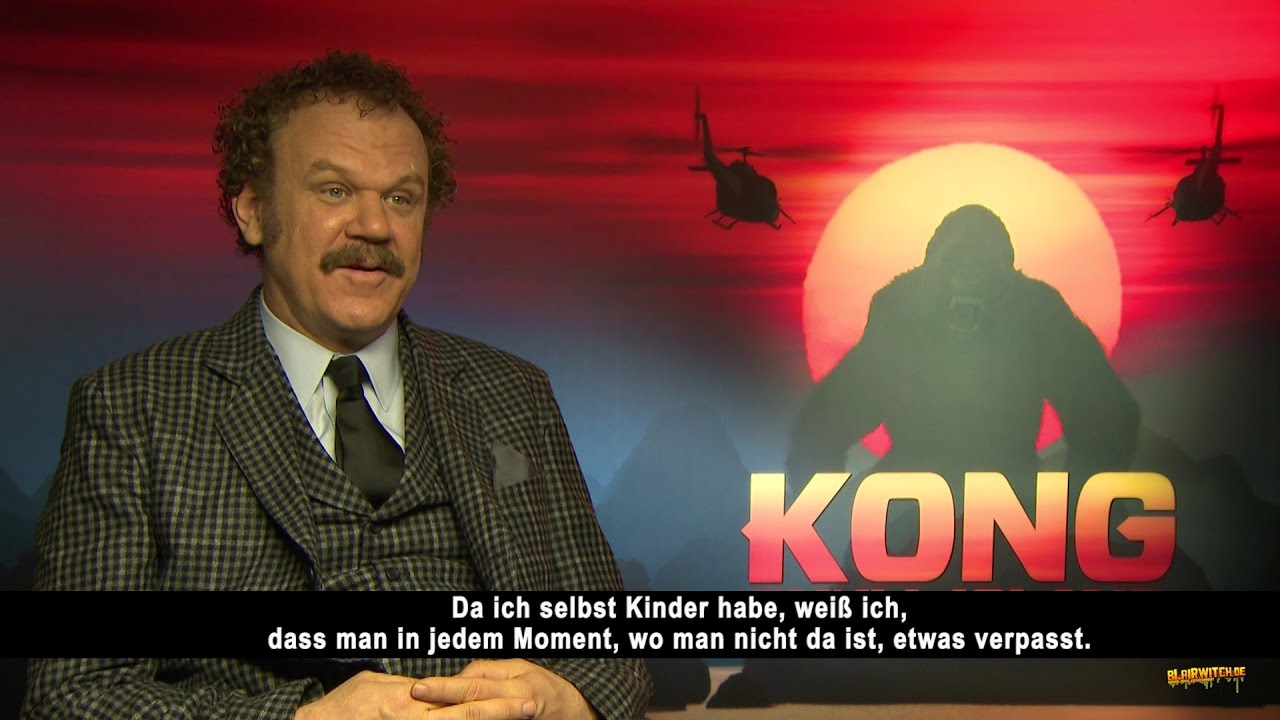 John C Reilly On What He Would Miss On An Island Kong Skull Island Interview