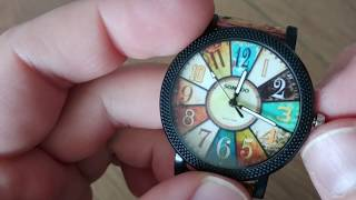 Cork watch - women's watch from Aliexpress (Time for ladies! by Marvelous Watches)