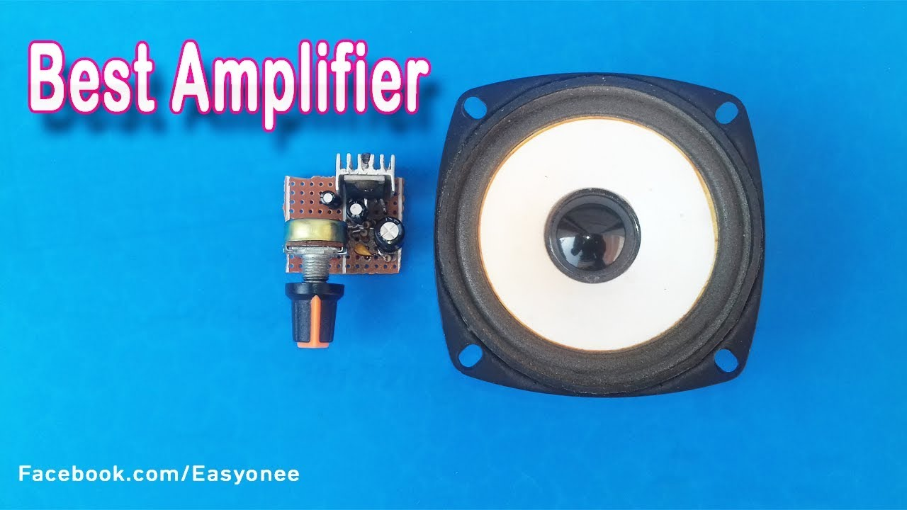 How To Make Audio Stereo Amplifier TDA 2003 DC 12V 10W