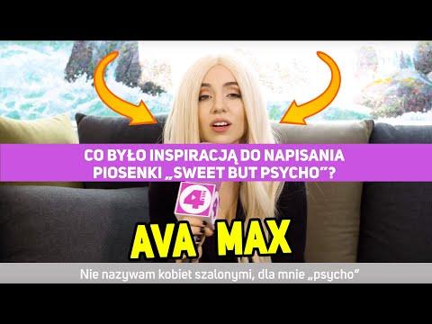 Ava Max o piosence Sweet but Psycho