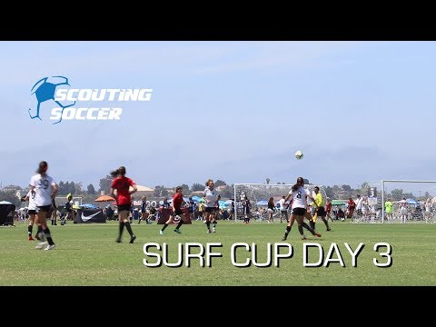 Surf Cup Day 3 Arsenal South Vs Davis Legacy   Scouting Soccer Vlog