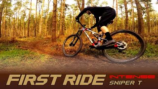FIRST RIDE ON THE INTENSE SNIPER T