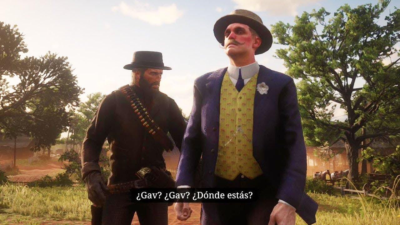 Red Dead Redemption 2 Gavin