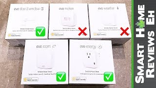 elgato Eve Room, Outdoor, Door & Window and Motion Review - Smart Home Gadgets
