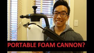 How To: Make a Portable Foam Cannon? - A better AMMO Aerator?