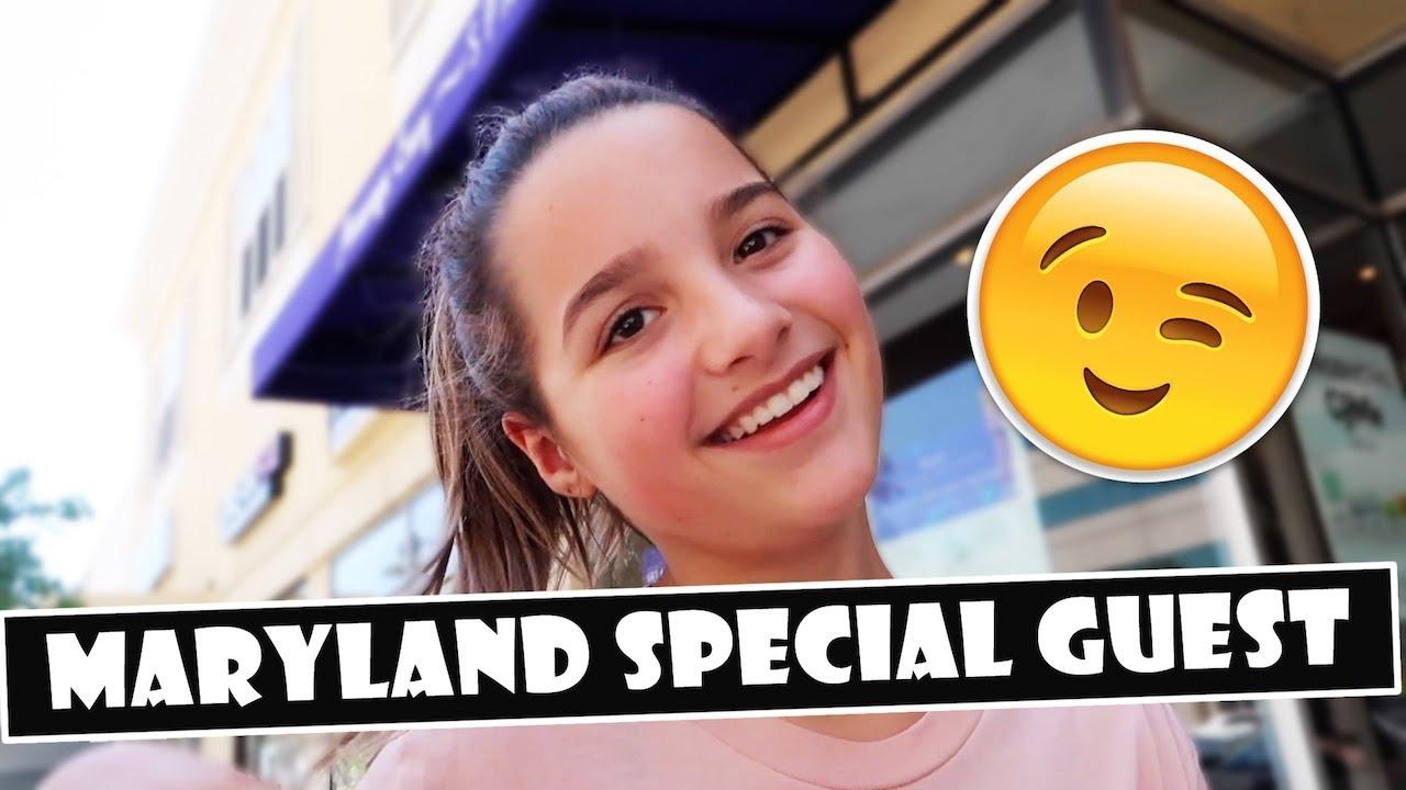Maryland Special Guest 😉 (WK 389.7)   Bratayley