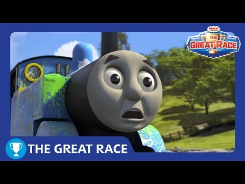The Great Race Trailer   The Great Race   Thomas & Friends