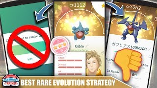 Watch This BEFORE You EVOLVE Your RARES  BEST RARE POKEMON EVOLUTION STRATEGY  POKEMON GO