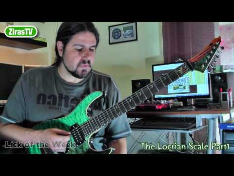 The Locrian Mode/Scale Part1   Lick Of The Week 81
